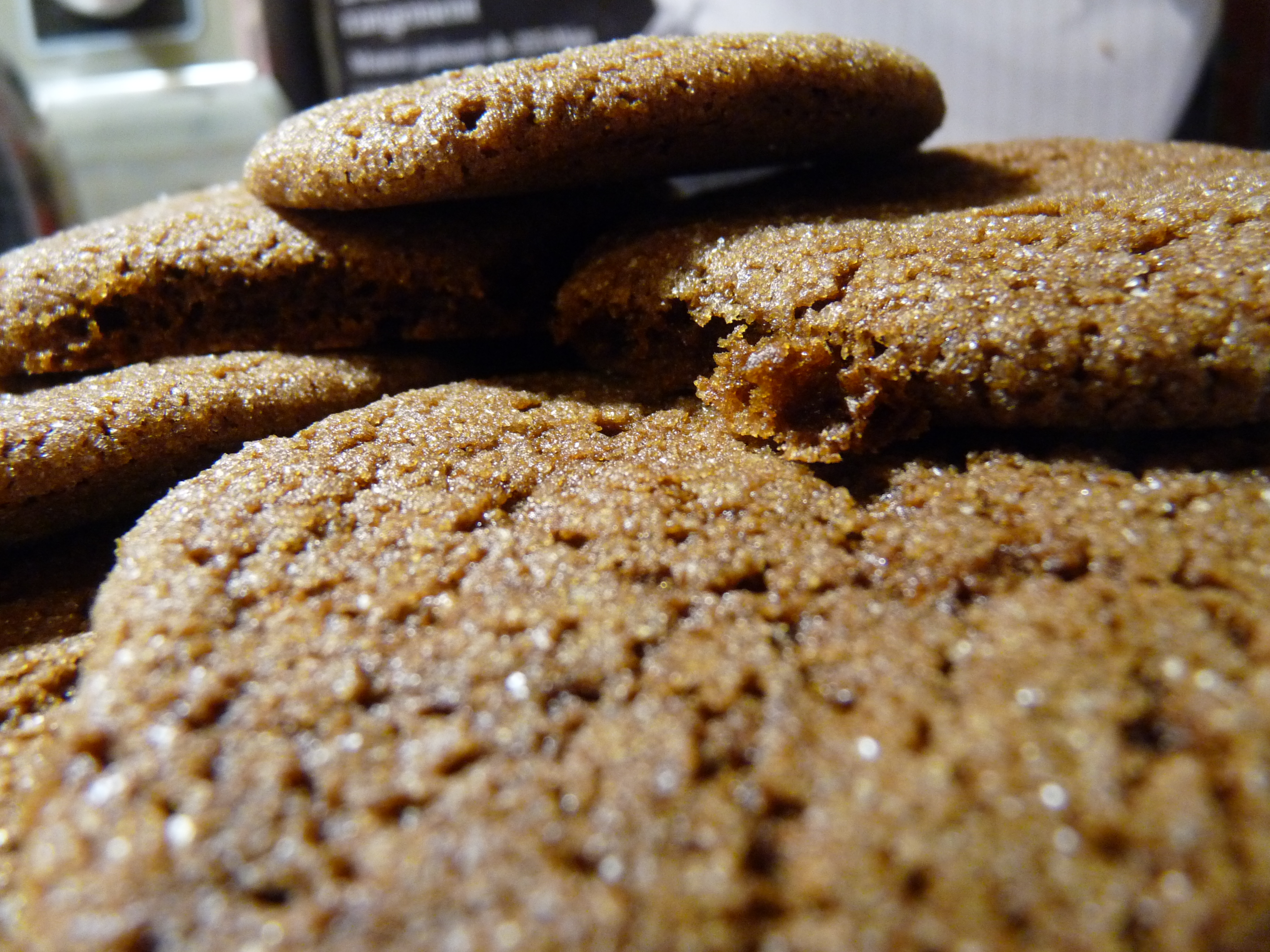 Chewy Molasses Spice Cookies | Tranquil Dreams