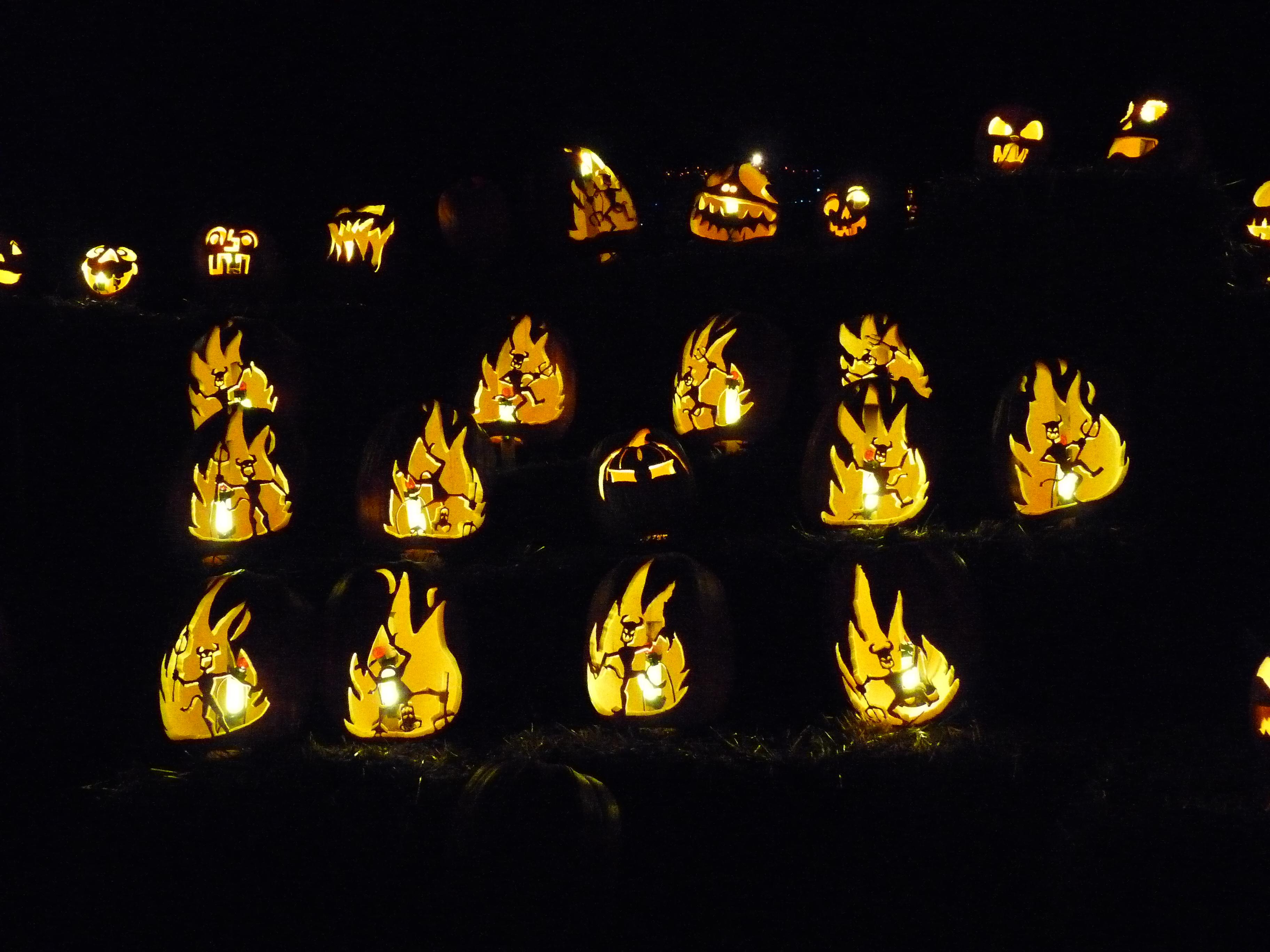 Pumpkin Inferno Tranquil Dreams