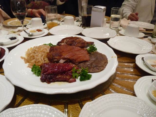 Chinese Meat Platter