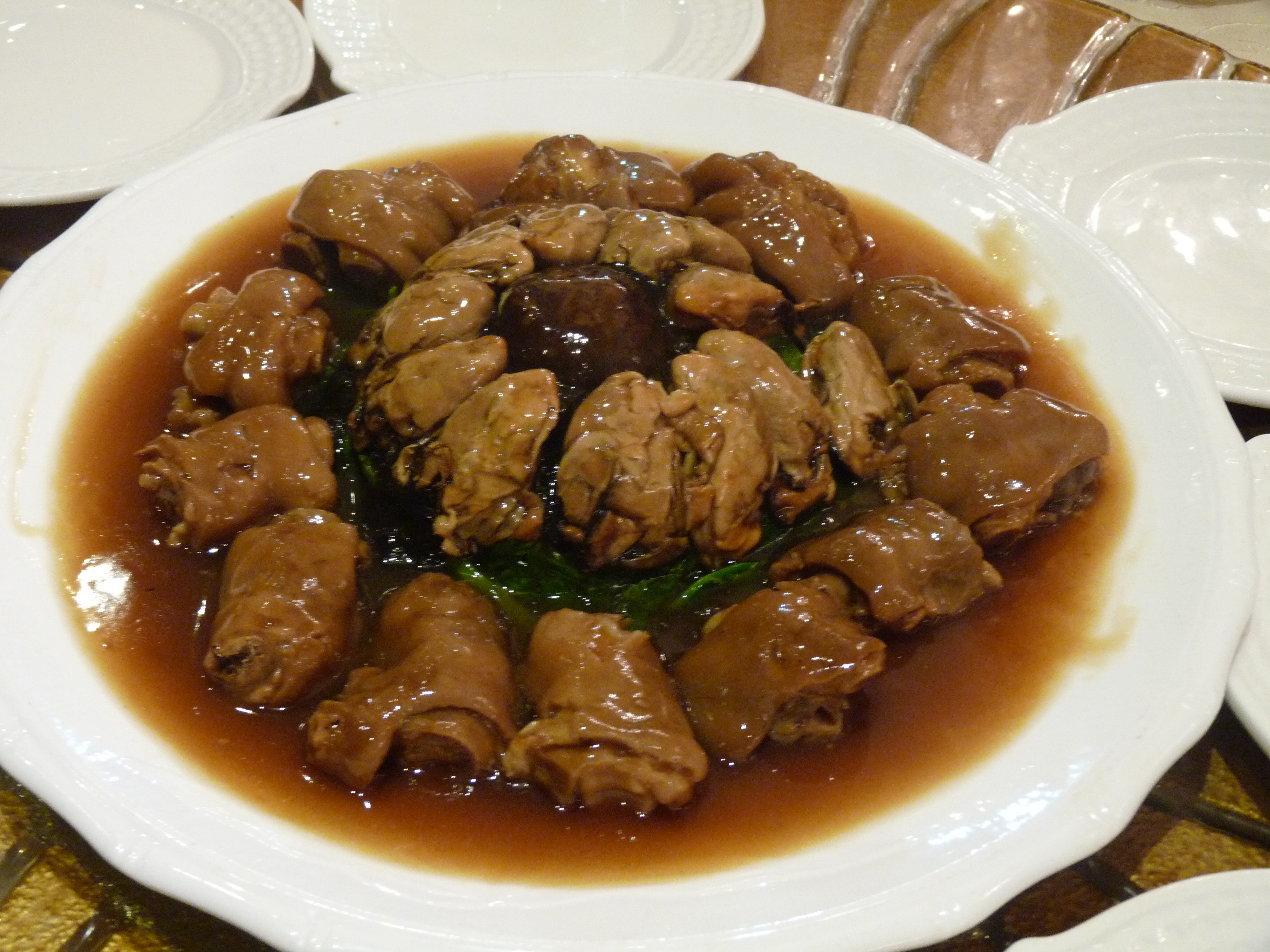 Braised Dried Oyster and Pork Hock