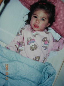 Baby Kim...ignore the timestamp..