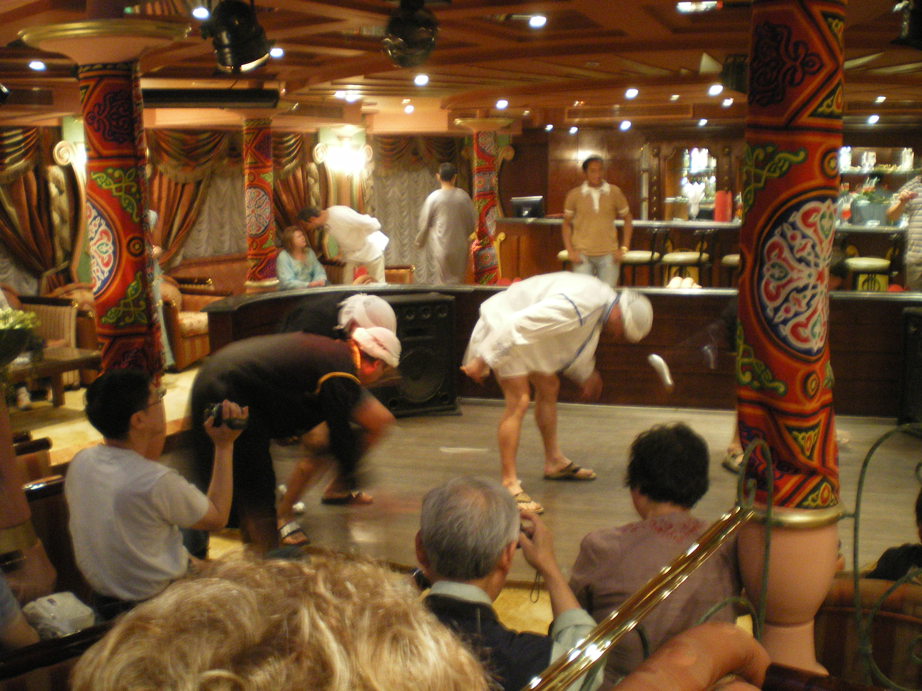 Egypt Nile Cruise entertainment with traditional dancing
