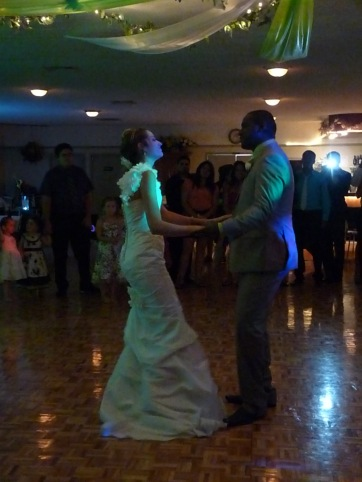 Wedding couples first dance..and they are the sweetest couple EVER!