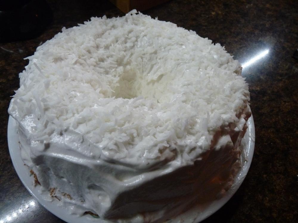 Coconut Cloud Cake!  (1/3)