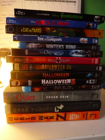 Movies and Books...A sneak peek at whats coming up!