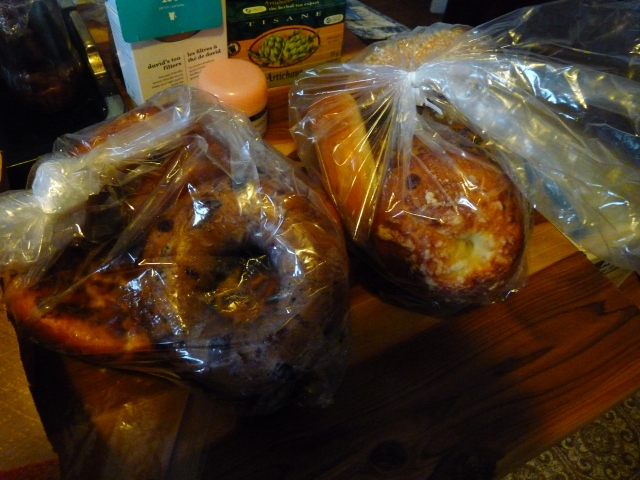 Baker's Dozen of Bagels from Panera Bread! Good to share with family!