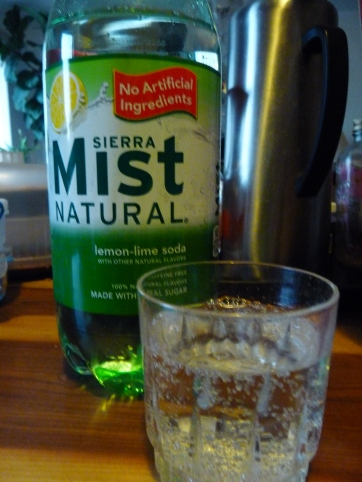 My favorite soft drink: Sierra Mist! Yummy!