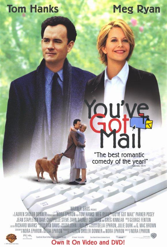 ผลการค้นหารูปภาพสำหรับ you've got mail (1998)