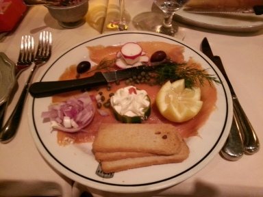 Appetizer: Smoked Salmon