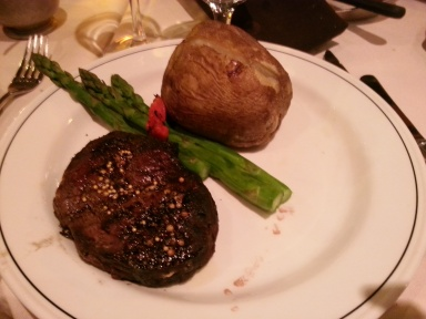 Petit Filet Mignon (9oz) with Baked Potato