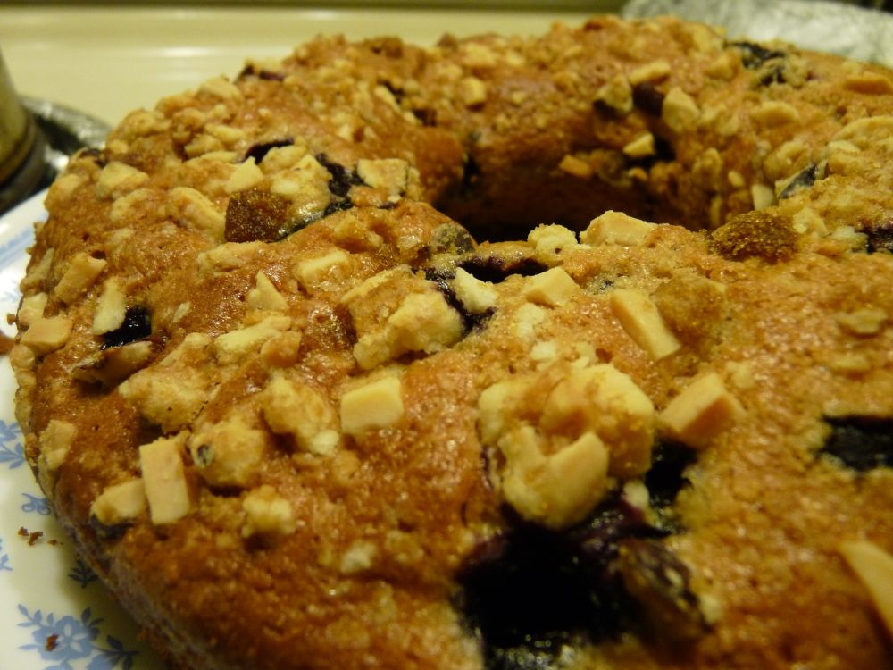 Blueberry Streusel Coffee Cake! (1/4)