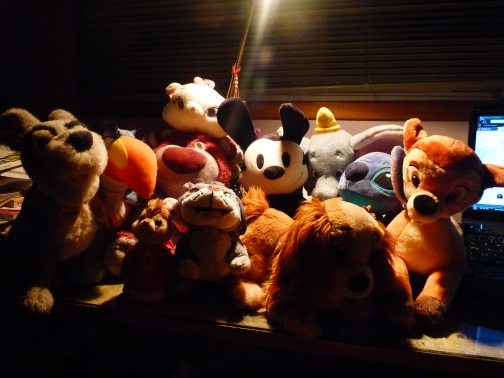 Current Disney Plush Collection