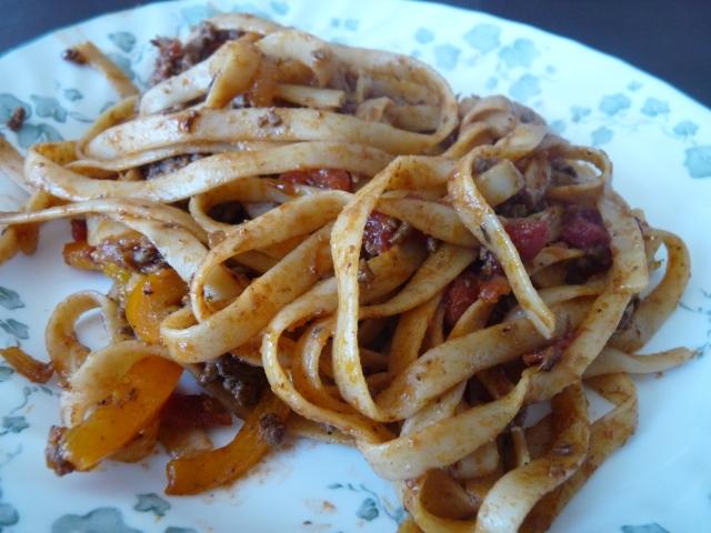 Healthier Pasta Bolognese