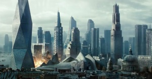 star trek 2 london explosion