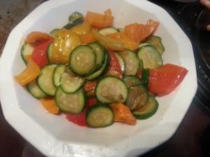 Stir-Fried Veggies (from my best friend)