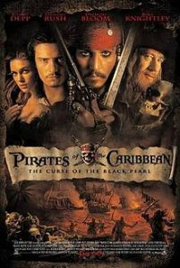 Pirates of the Caribbean Curse of the Black Pearl poster
