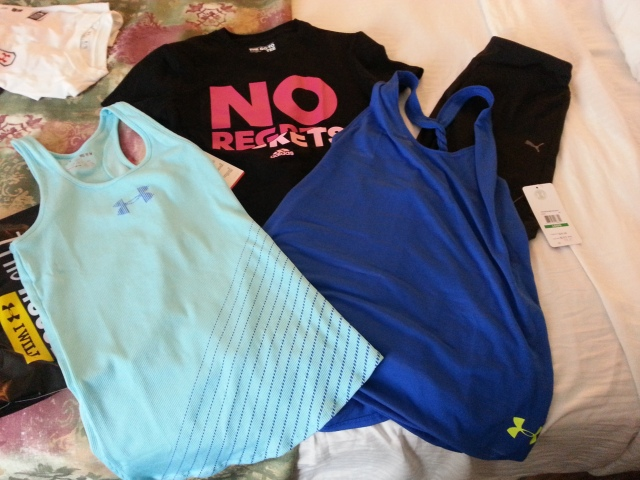 My shopping! (the clothes)
