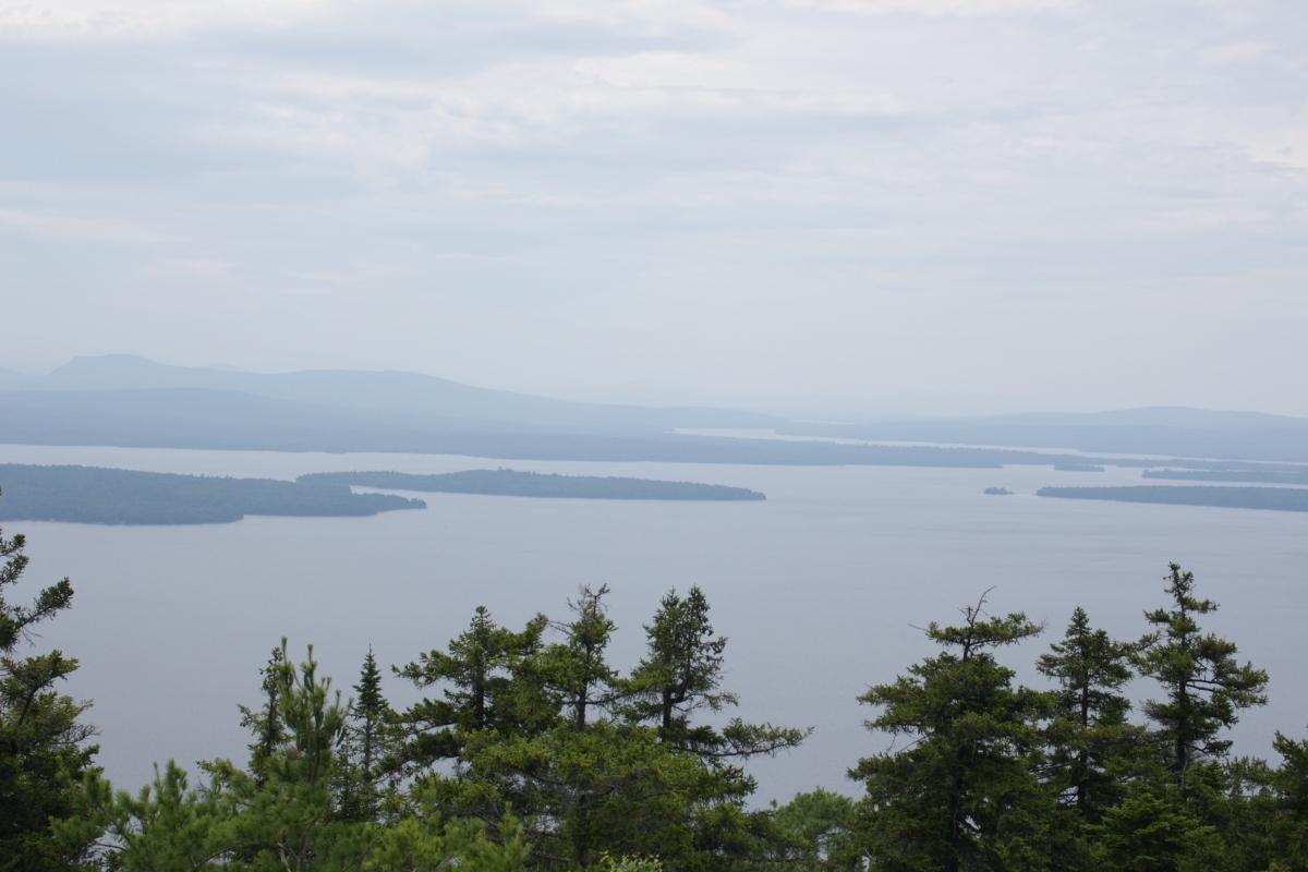 Bald Mountain Hiking Trail view
