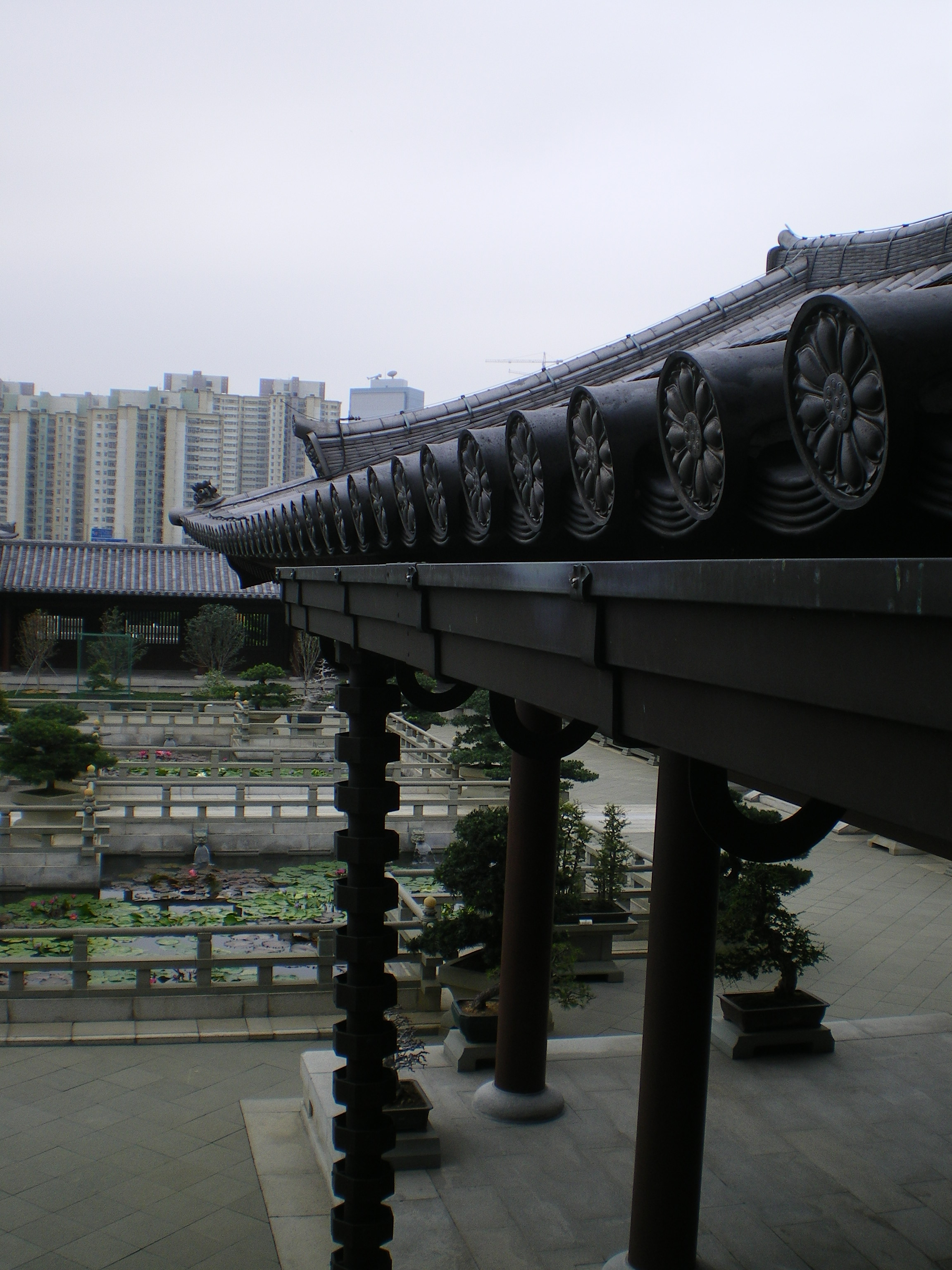 Roof of Chi Lin Nunnery