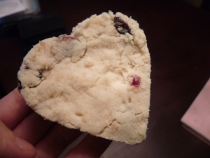 Shortbread hearts :)