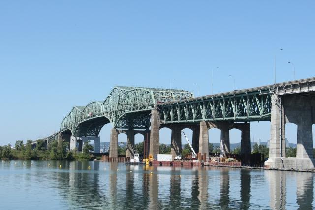 Champlain Bridge repairs and maintenance....