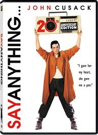 say anything poster