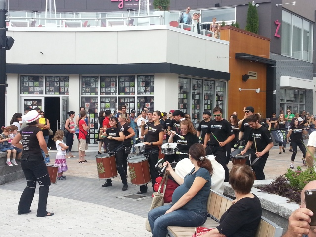 Performance at Square Dix30 area