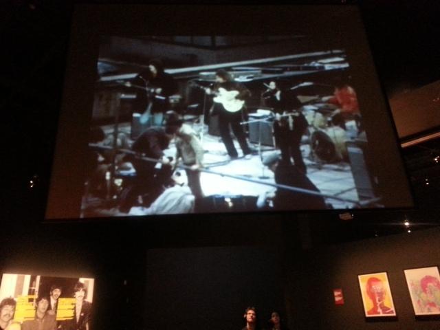 The Beatles in Montreal exhibit