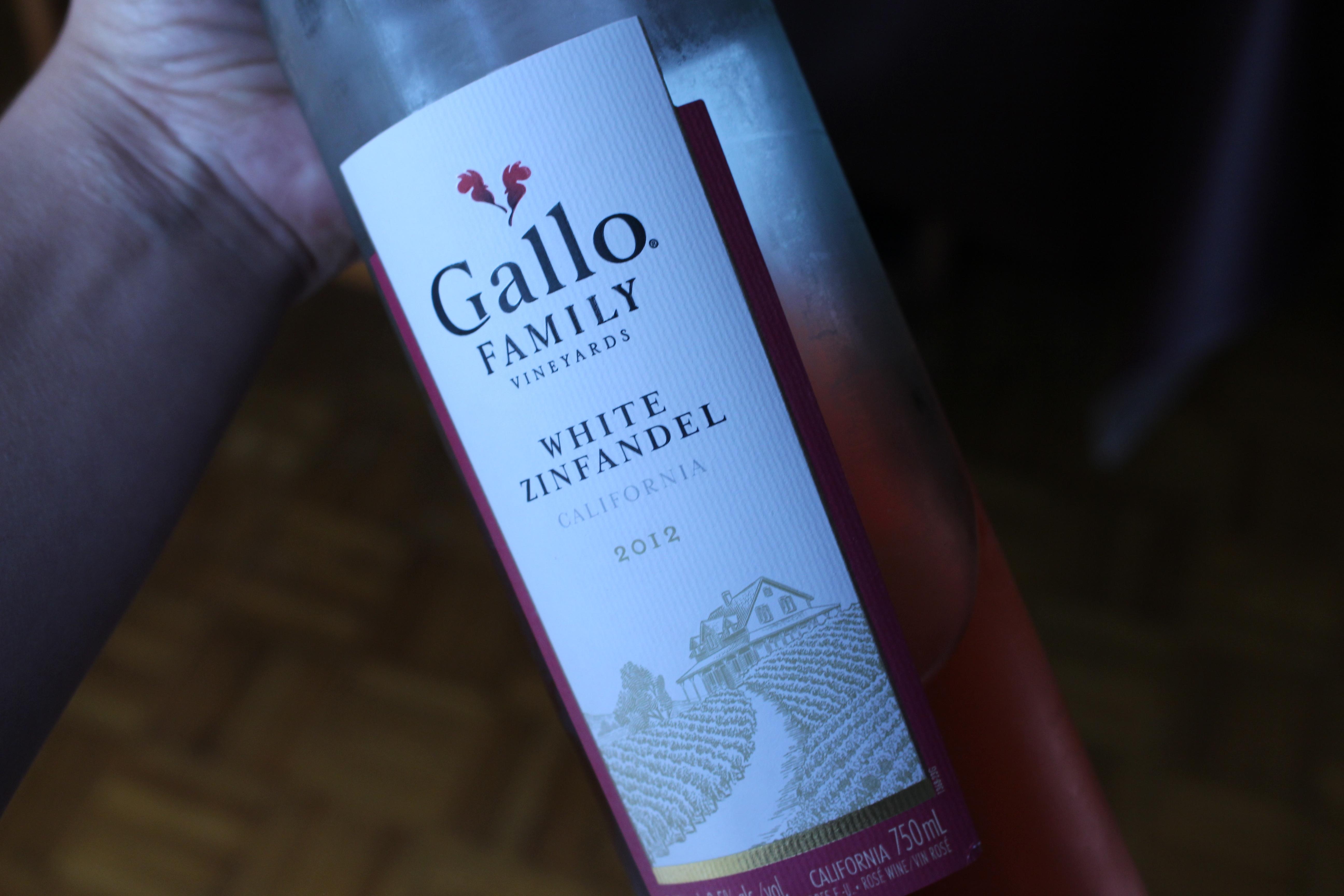 Gallo White Zinfandel :)