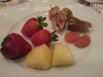 My 4th and dessert plate
