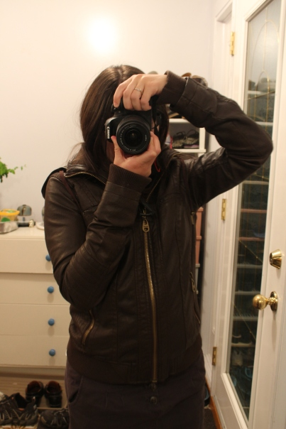 Brown coat!