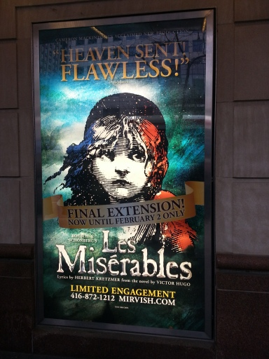 Les Miserables Prince of Wales Theatre