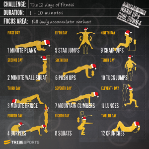 12 days of fitness