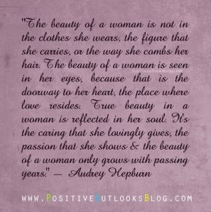 beauty of a woman