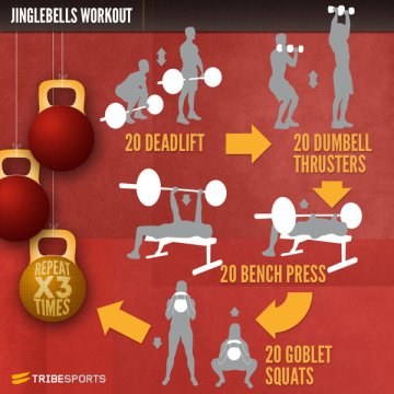 jinglebells workout