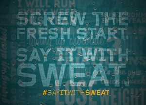 Tribesports Say it with sweat