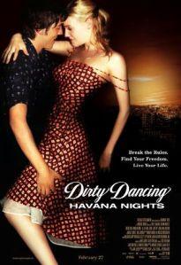 dirty dancing havana nights poster