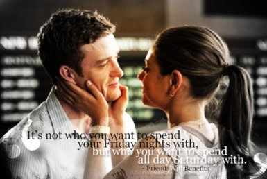 friends with benefits quote