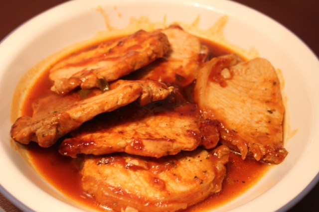 Pork Chops in Zesty Barbecue Sauce