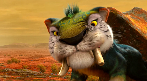the croods tiger
