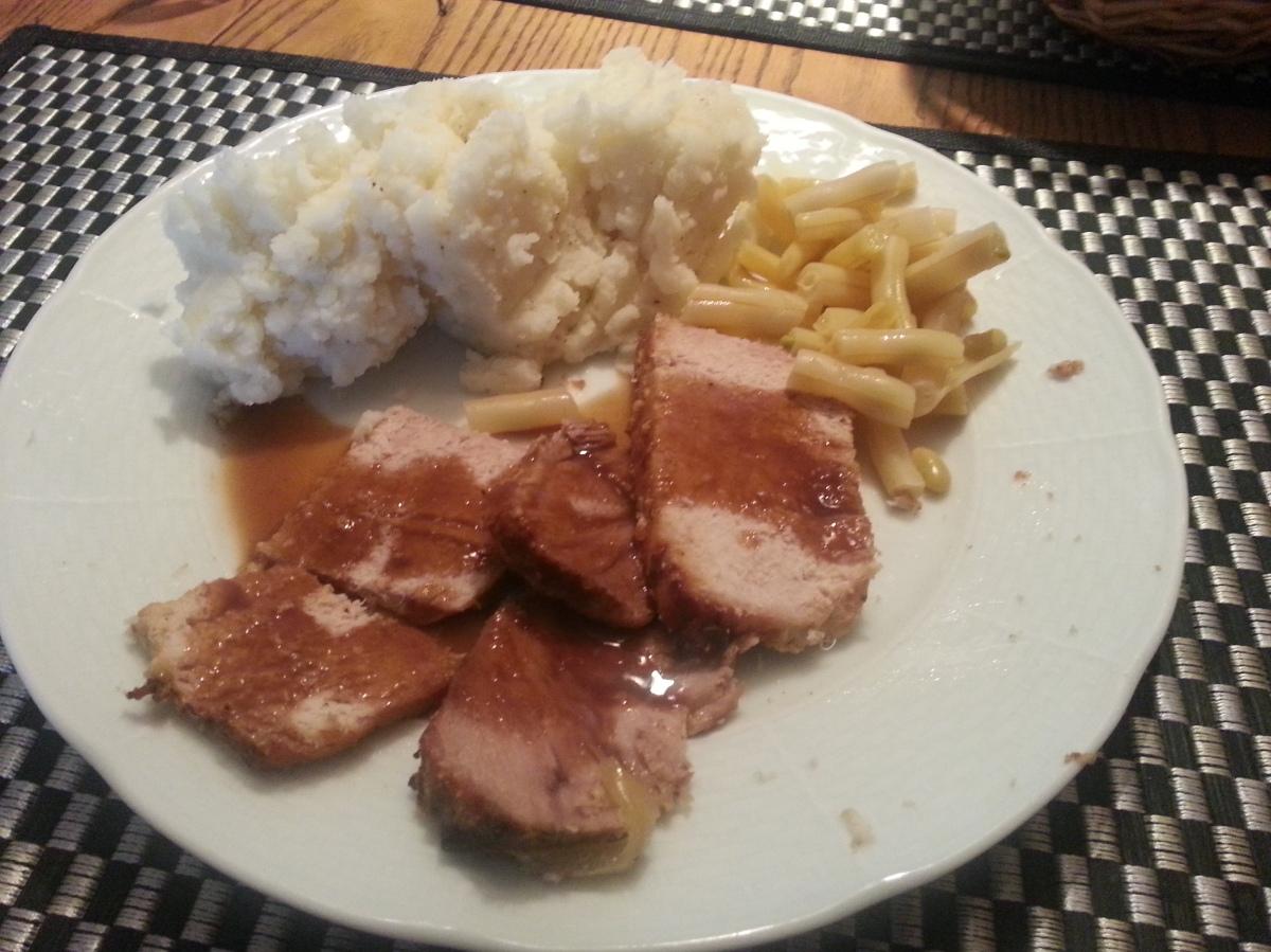 Pork Mashed potatoes