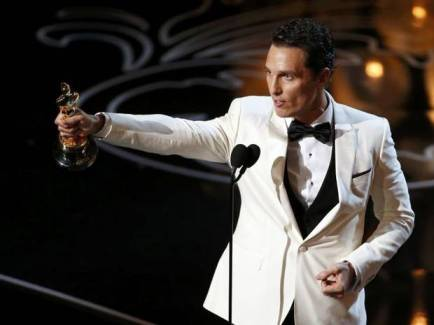 matthew mcconaughey speech