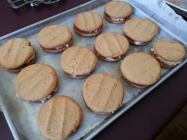Peanut Butter Sandwich Cookie