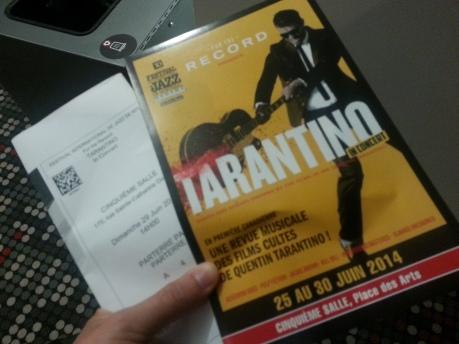 Tarantino in concert