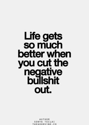negative bs