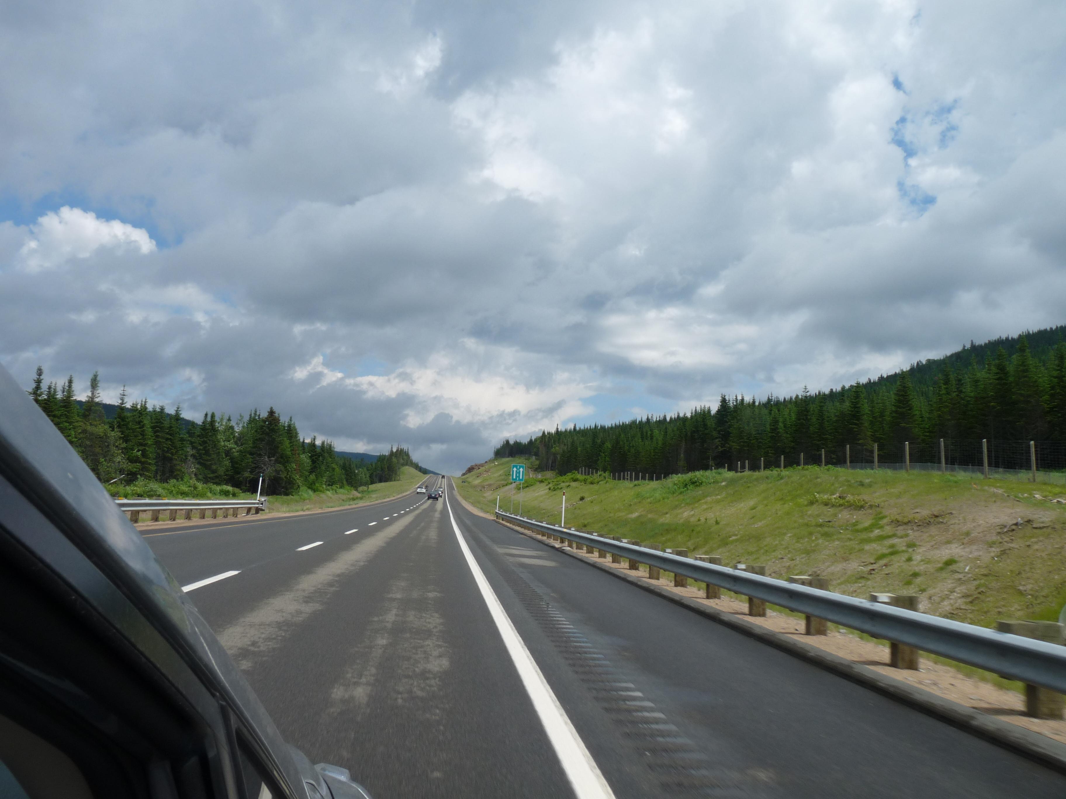 Quebec roads