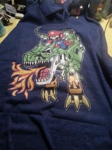 Mario and Dinobot Yoshi!