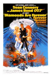 diamons are forever poster
