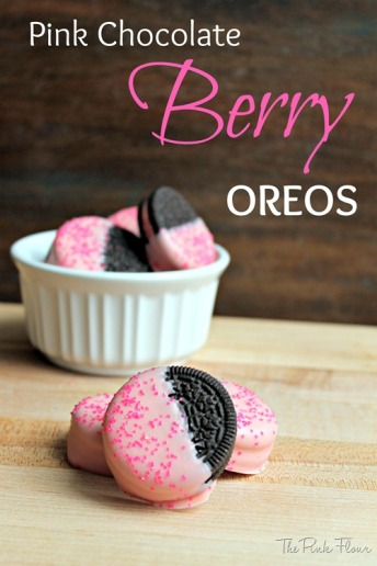 Pink Chocolate Berry Oreo