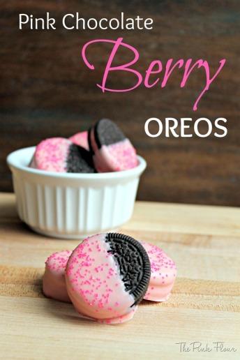 Pink Chocolate Berry Oreo